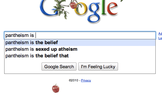 "Is Google censoring auto-complete searches for Islam? ""Islam is ..."