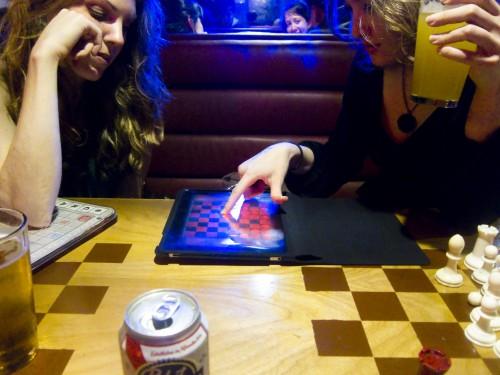 iPad at Fat Cat