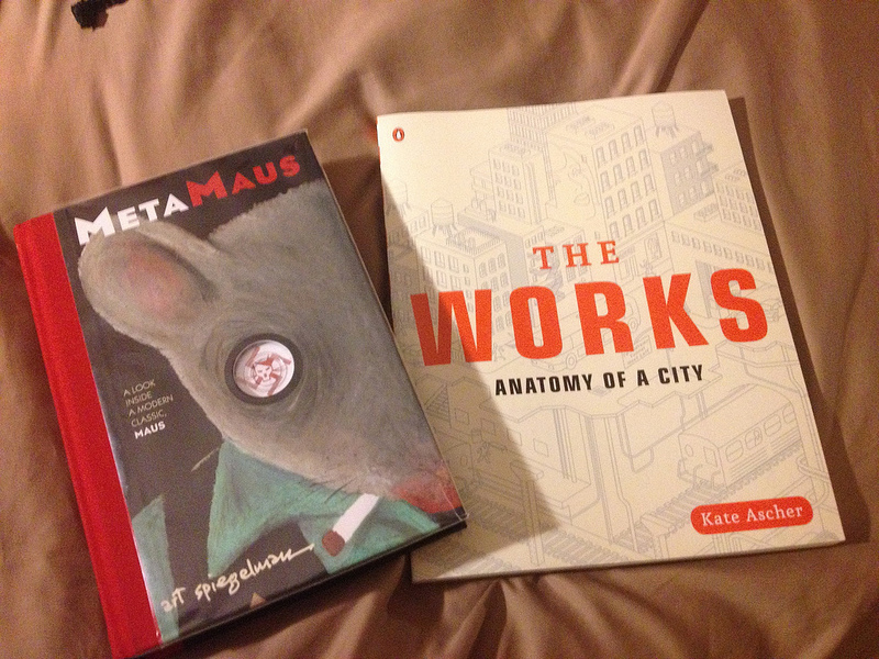 MetaMaus and The Works, from St. Marks Place Books - danwin.com