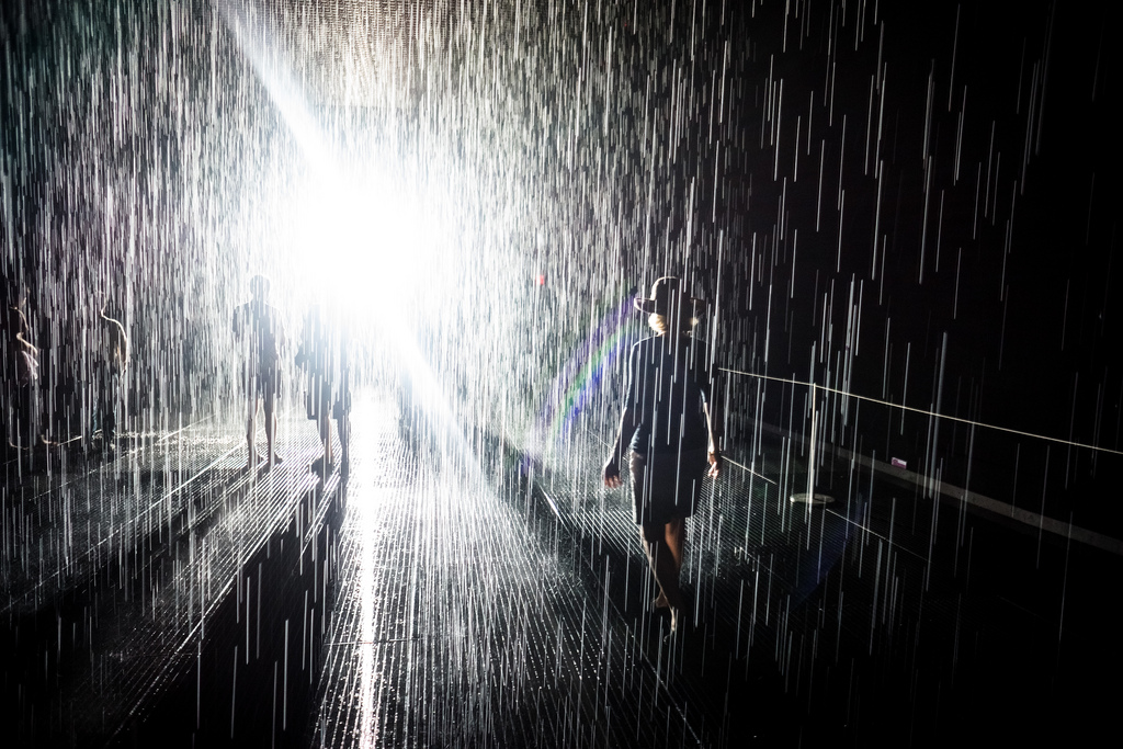 The MoMA's Rain Room