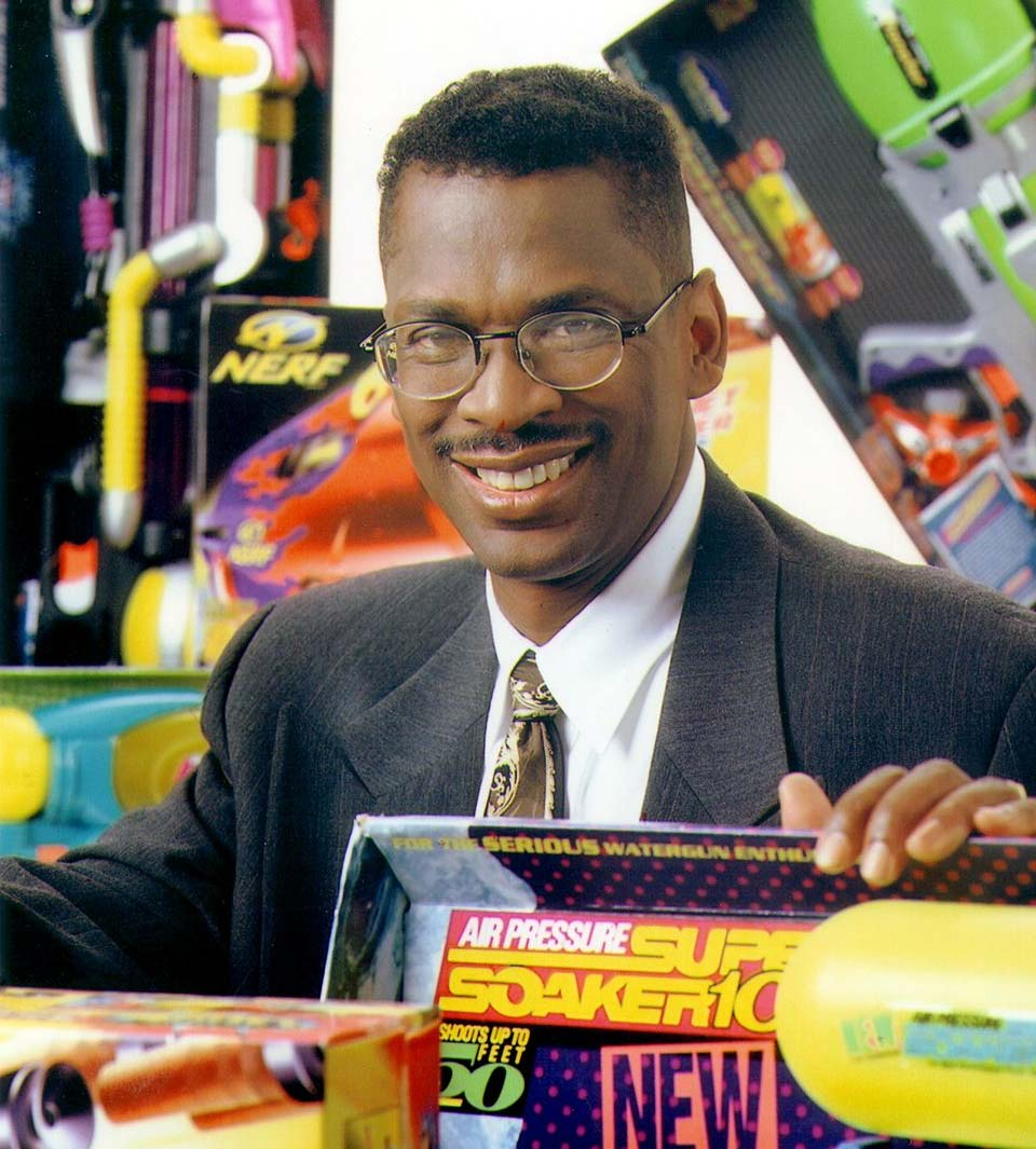 Lonnie Johnson, the inventor of the Super Soaker